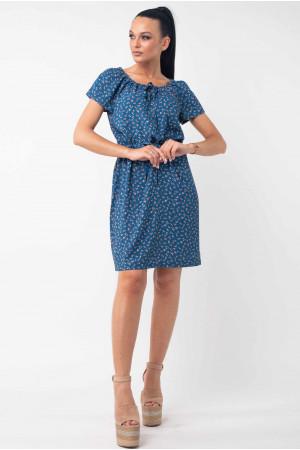 Сукня «Кіра» синього кольору