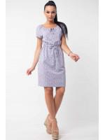 Платье «Кира» серого цвета