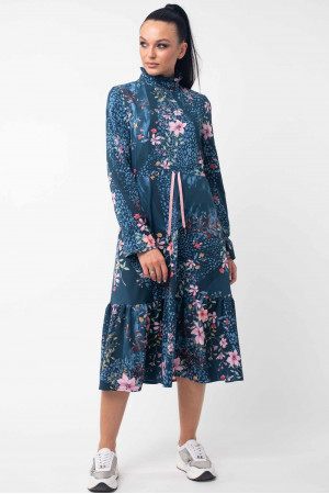 Платье «Рут» цвета бриз