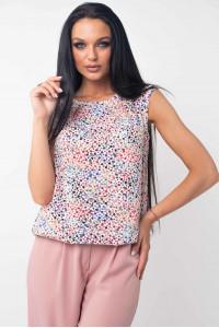 Блуза «Китти» розового цвета