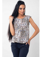 Блуза «Кітті» кольору хакі