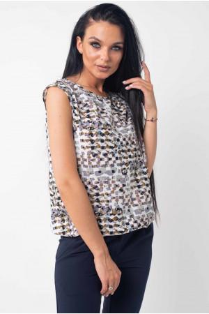 Блуза «Китти» цвета хаки