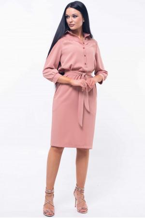 Платье «Диона» цвета пудры