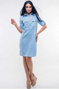 Сукня «Тейлі» кольору блакитного джинсу