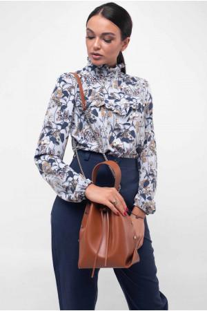 Блуза «Рут» блакитного кольору