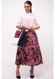 Спідниця «Юка» темно-рожевого кольору