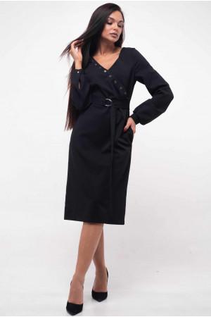 Платье «Хайди» черного цвета