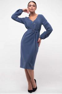 Платье «Хайди» цвета джинс