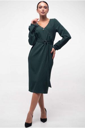 Платье «Хайди» изумрудного цвета