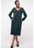 Сукня «Хайді» смарагдового кольору