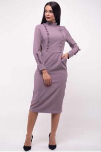 Платье «Вилл» цвета пыльной розы