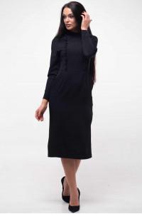 Платье «Вилл» черного цвета