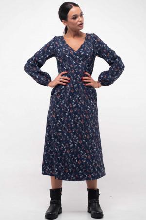 Платье «Луиза» синего цвета