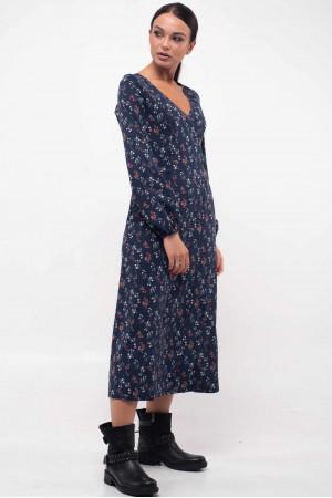 Сукня «Луїза» синього кольору