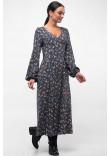 Сукня «Луїза» графітового кольору
