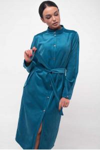 Платье «Крис» голубого цвета