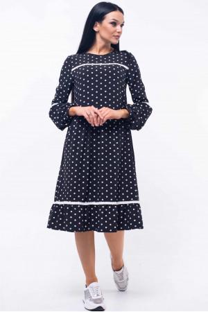 Платье «Шерил» черного цвета