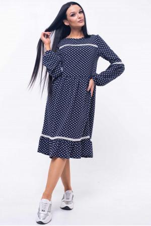 Платье «Шерил» синего цвета