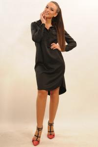 Платье «Текила» черного цвета