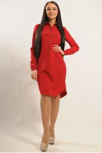 Платье «Текила» вишневого цвета