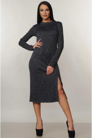 Сукня «Тіна» темно-синього кольору