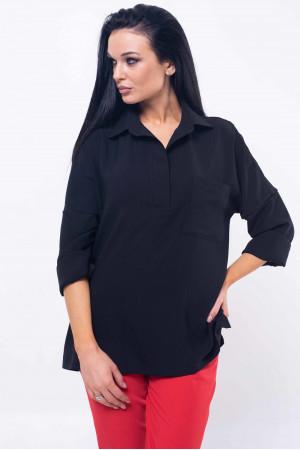 Рубашка «Бекки» черного цвета