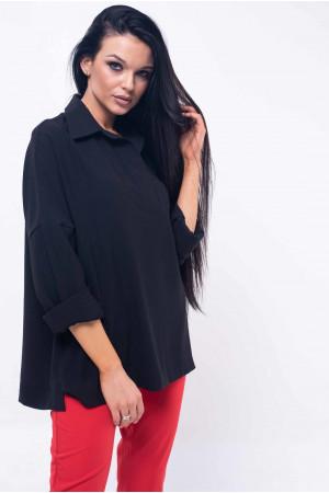 Сорочка «Беккі» чорного кольору