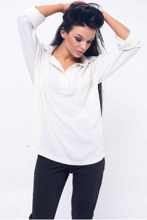 Рубашка «Бекки» молочного цвета