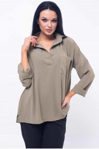 Рубашка «Бекки» цвета хаки