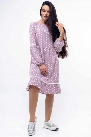 Платье «Шерил» лилового цвета
