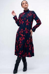 Сукня «Рут» темно-синього кольору