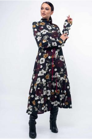 Платье «Рут» черного цвета