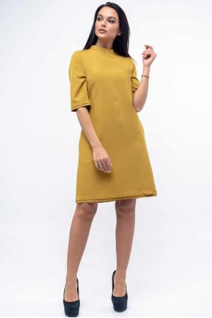 Сукня «Юка» гірчичного кольору