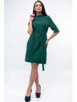 Платье «Юка» зеленого цвета
