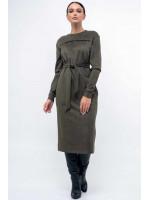 Платье «Мейлин» цвета хаки