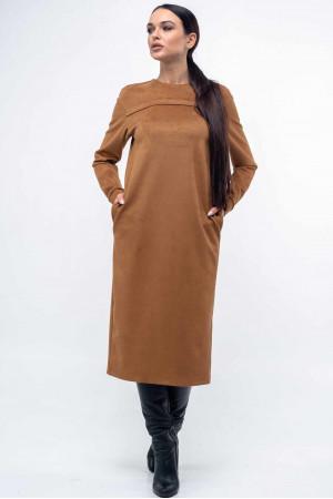 Платье «Мейлин» карамельного цвета