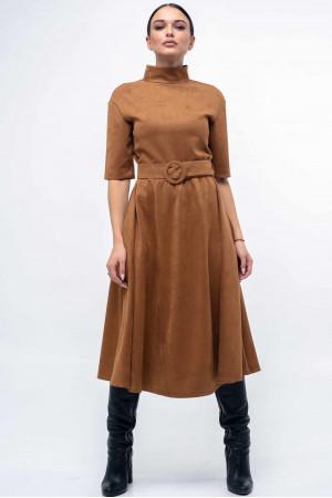 Платье «Стелла» карамельного цвета