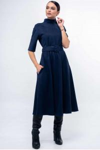 Платье «Стелла» темно-синего цвета