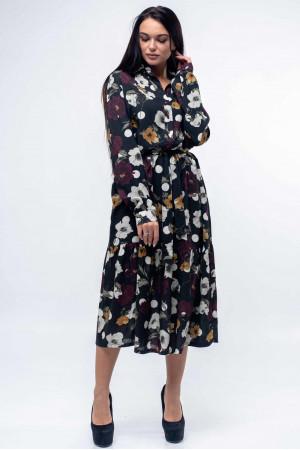 Платье «Флоренц» черного цвета