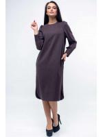 Сукня «Джен» баклажанового кольору