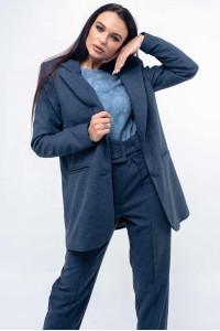 Пиджак «Вики» синего цвета