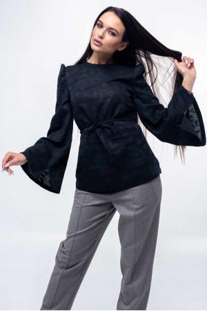 Блуза «Дженні» чорного кольору