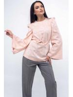Блуза «Дженни» персикового цвета