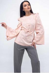 Блуза «Дженні» персикового кольору