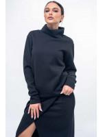 Світшот «Лорена» чорного кольору