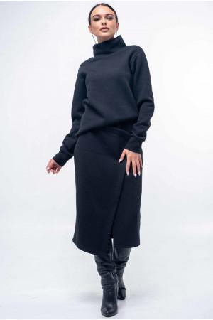 Юбка «Лорена» черного цвета