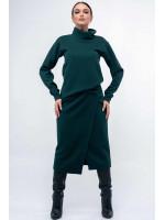Спідниця «Лорена» зеленого кольору