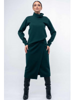 Юбка «Лорена» зеленого цвета