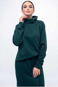Світшот «Лорена» зеленого кольору