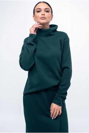 Свитшот «Лорена» зеленого цвета